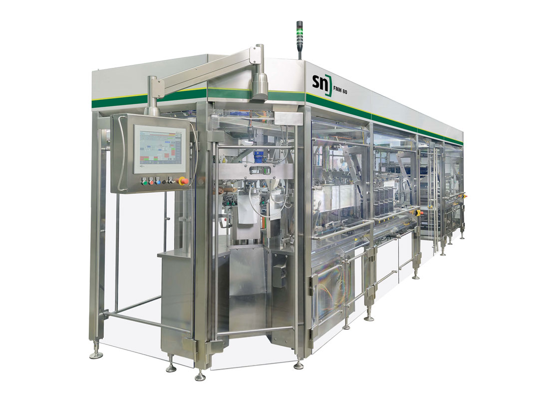 Manufacturer of pouch packaging machines and packaging lines